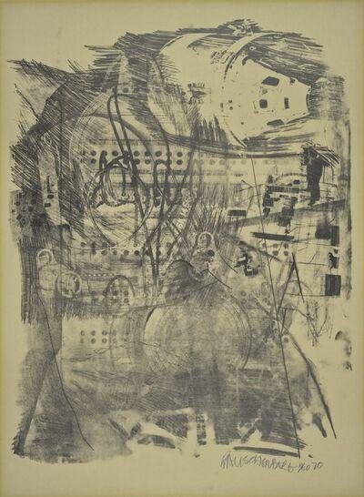 Robert Rauschenberg, 'Strawboss (Stoned Moon)', 1970
