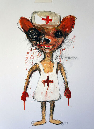 "Juliane Hundertmark, '""Little Nurse""', 2018"