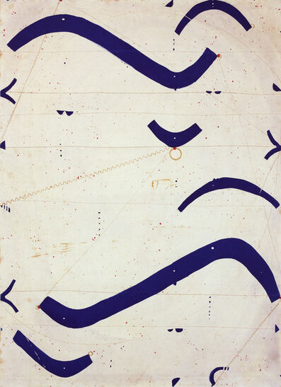 Caio Fonseca, 'Seven String Etching, Obliques', 2001