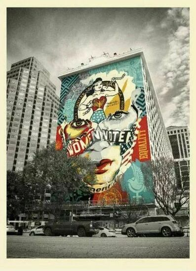 Shepard Fairey, 'Shepard Fairey & Sandra Chevrier The Beauty of Liberty and Equality Print Mural', 2020