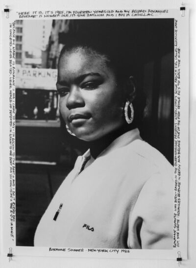 Janette Beckman, 'Roxanne Shante- New York City 1986', 2018