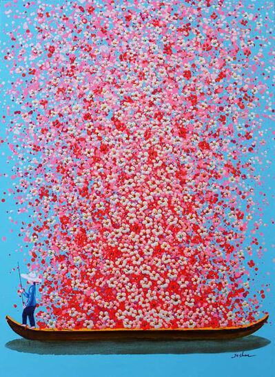 Je Shen, 'Pink boat', 2020