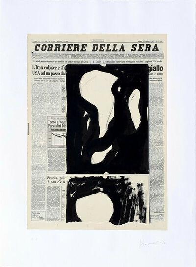 Jannis Kounellis, 'Edizione notturna', 1986