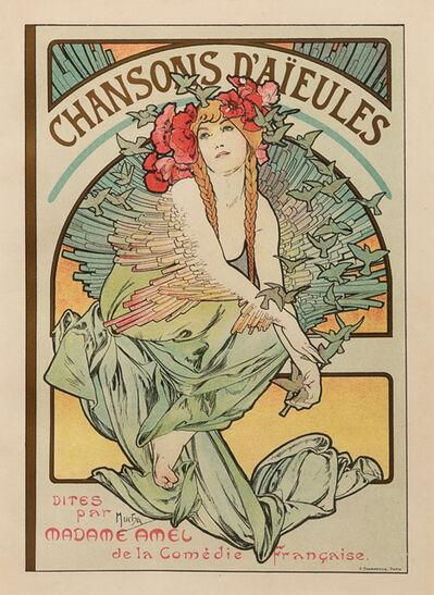 Alphonse Mucha, 'Chansons d'Aieules'