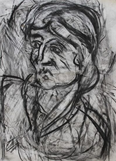Leon Kossoff, 'Fidelma', 1999