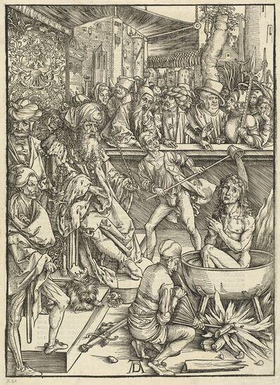 Albrecht Dürer, 'The Martyrdom of Saint John', 1498