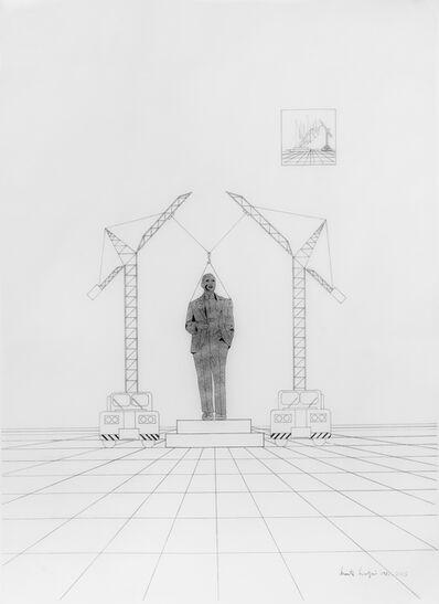 Marta Minujin, 'Carlos Gardel de fuego', 1981-2015