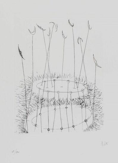 Fausto Melotti, 'Omaggio alla luna', 1978