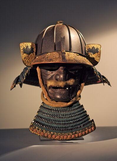 Katchu Shi, 'Heavy 8 Plate Samurai Helmet and Mask', ca. 1600