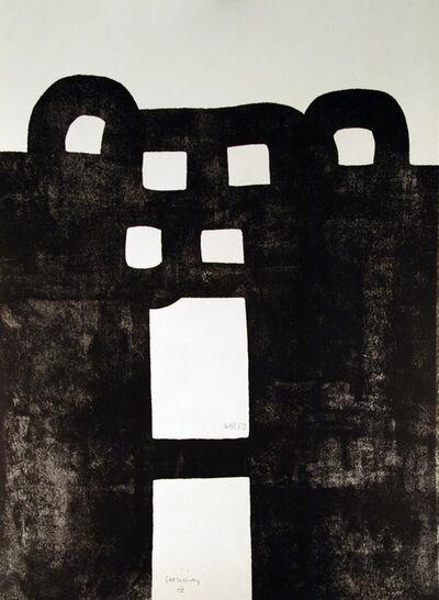 Eduardo Chillida, 'Gurutze Gorria', 1984
