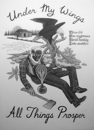 Eric Beltz, 'Under My Wings All Things Prosper', 2009