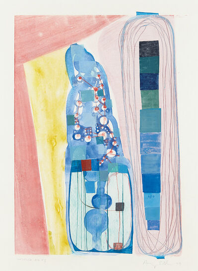 Amy Sillman, 'Untitled Big #1', 1999
