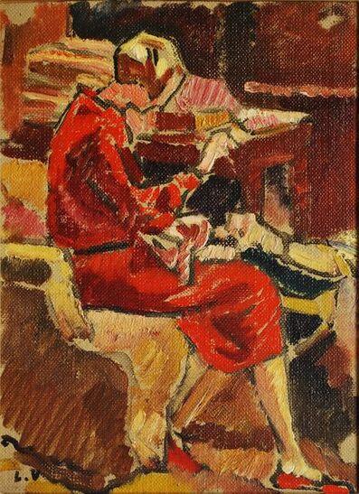 Louis Valtat, 'La Couturiere en robe rough dans fauteuil', n.d.