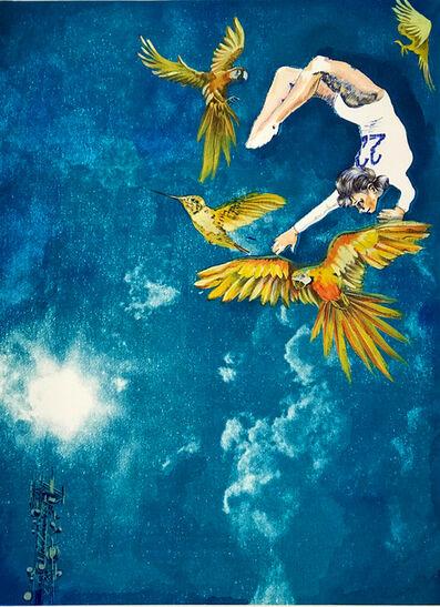 Anna Marrow, 'Iris - Goddess of the Sky and Birds', 2018