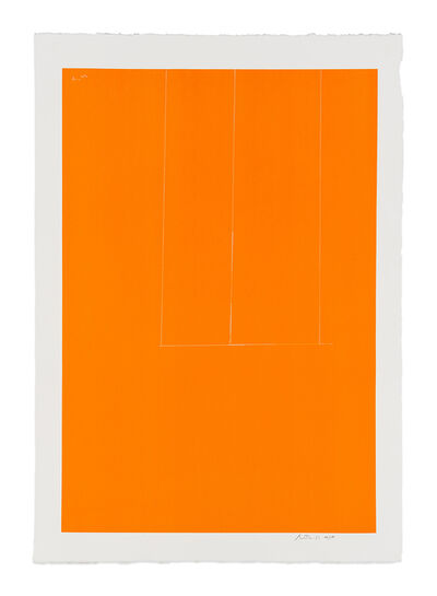 Robert Motherwell, 'London Series I: Untitled (Orange)', 1971