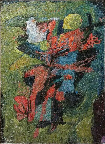 Afro (Afro Basaldella), 'Boy with turkey', 1955