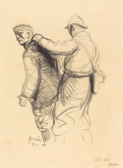 Jean-Louis Forain, 'The German Expelled', 1919