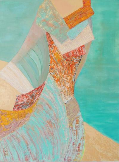 Stéphanie Durand-Lelong, 'Femme Cigale et Mer', 2018