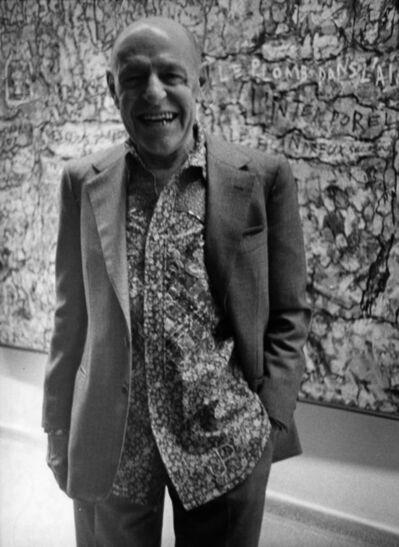 Bill Cunningham, 'Jean Dubuffet', ca. late 1970s