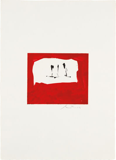 Robert Motherwell, 'Untitled (Phoenician Red)', 1976