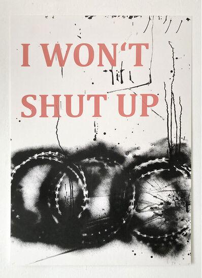 Monica Bonvicini, 'I Won't', 2021