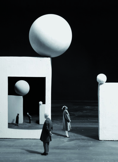 Gilbert Garcin, '394 The danger of images', 2009