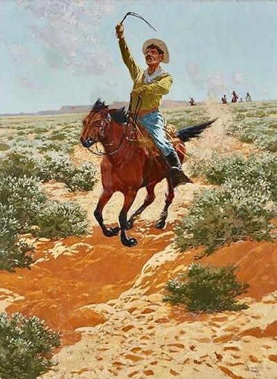 Fernand Lungren, 'At Full Gallop', 20th Century