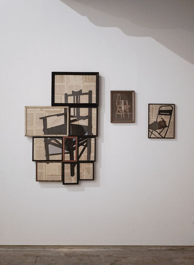 Sunil Padwal, 'Lining an archive VI'