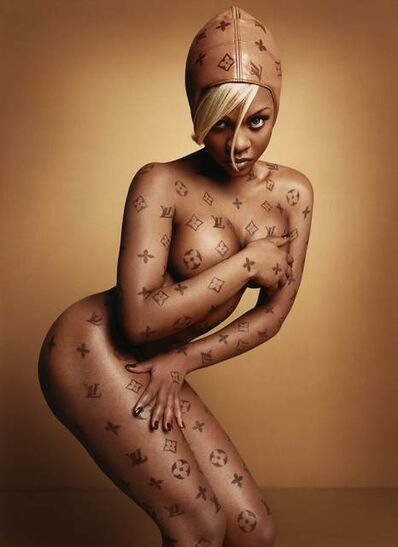 David LaChapelle, 'Lil' Kim: Luxury Item', 1999