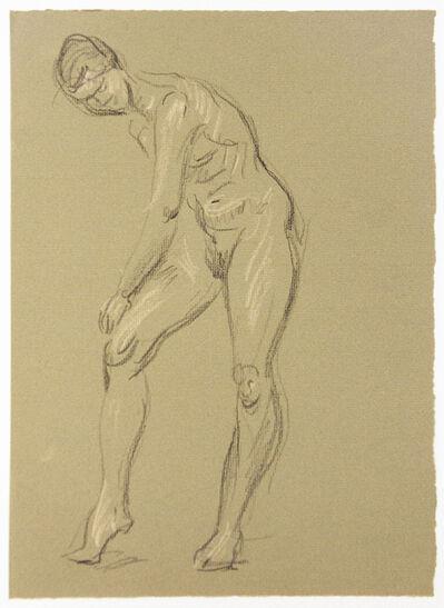 Paul Cadmus, 'Leaning Female Nude', ca. 1970