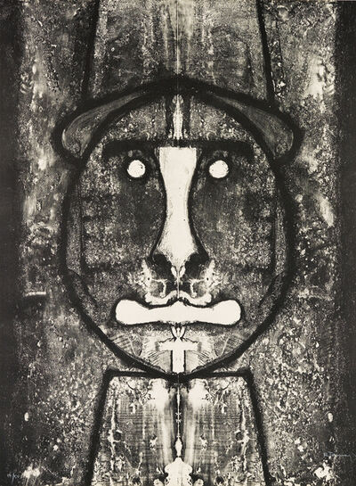 Rufino Tamayo, 'Cabeza en Rojo.', 1973