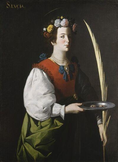 Francisco de Zurbarán, 'Saint Lucy', ca. 1625/1630