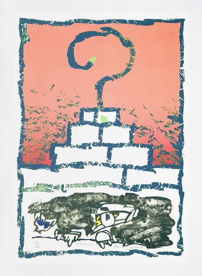Pierre Alechinsky, 'Zigouratt', 1986