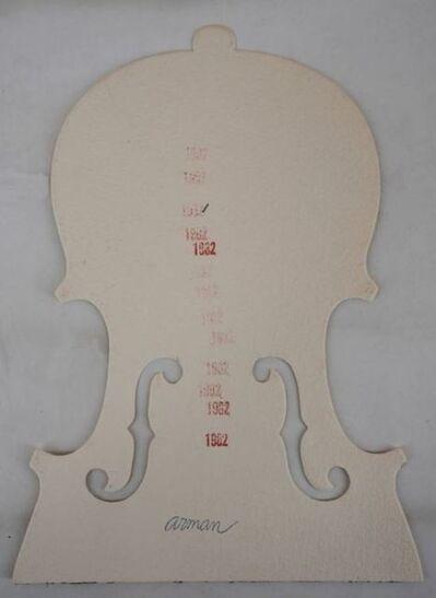 Arman, 'Violin, 1982', 1982