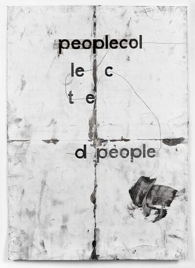 Tony Lewis, 'peoplecol', 2013