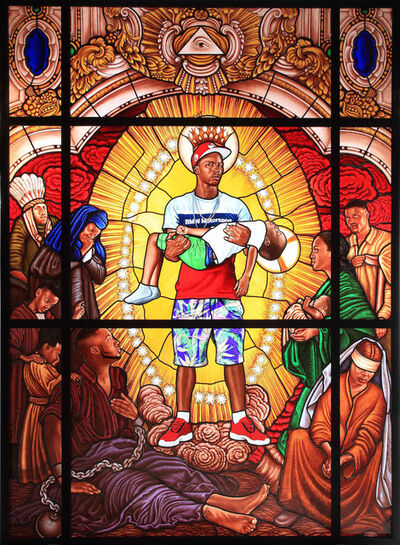 Kehinde Wiley, 'Mary, Comforter of the Afflicted ', 2016