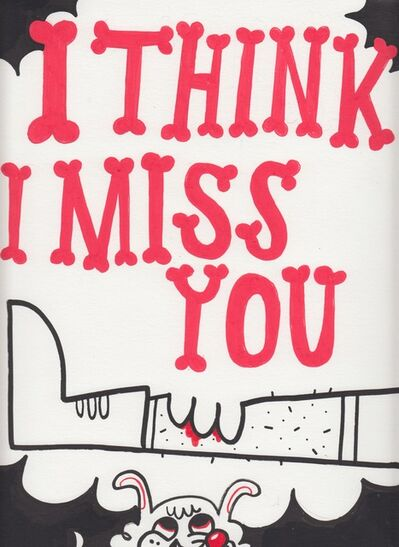 Jim Avignon, 'I think I miss you. Bite', ca. 2009