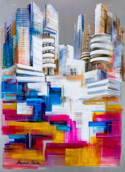 Adriana Naveh, 'White City Landscape', 2018