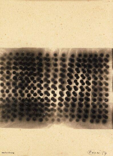 Otto Piene, 'Rauchzeichnung', 1959
