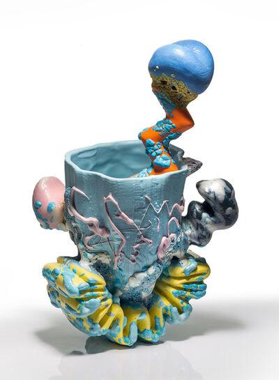 Joey Watson, 'Beverage Vessel with Squiggle Tread & Zigzag Straw 3C', 2016
