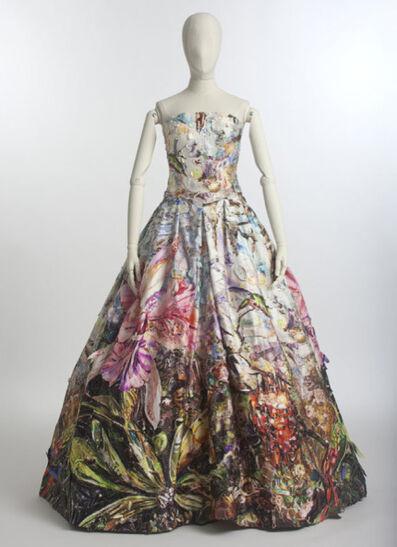 Vik Muniz, 'Peau D'ane Gown, 2013.  Installation view, Palais de Tokyo, Paris.  ART CAPSUL created by Stacy Engman exhibition, July 2013.  Haute Couture.'