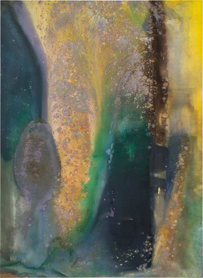 Frank Bowling, 'Ah Susan Woosh', 1981