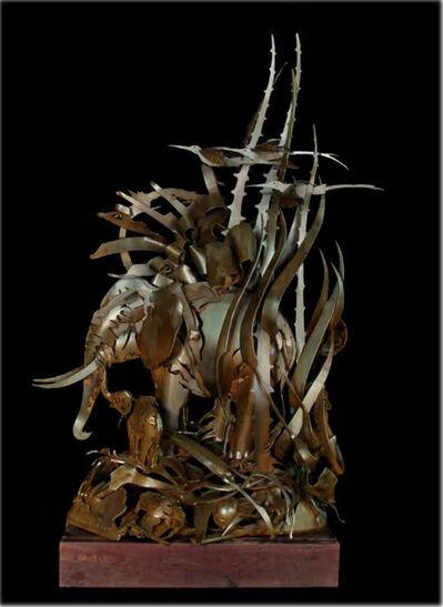 Albert Paley, 'Elephant with Birds', 2006