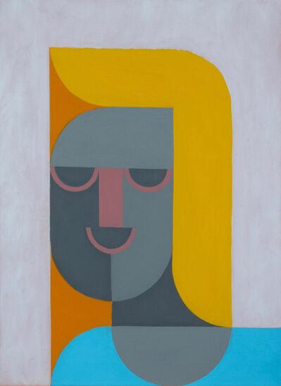 Leonhard Hurzlmeier, 'Robotic Blonde', 2018