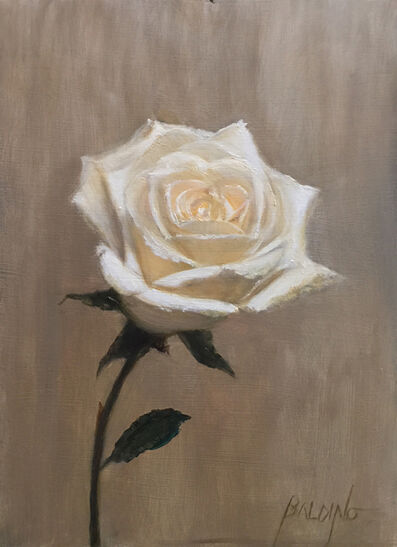 Patt Baldino, 'One White Rose', 2019