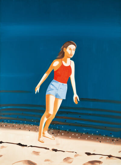 Alex Katz, 'Walking on the Beach', 2003