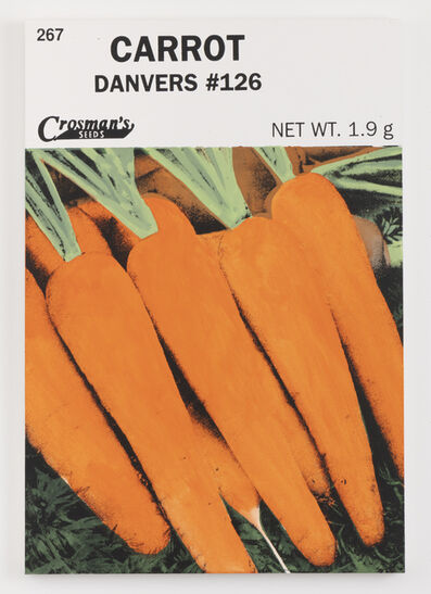 Lucien Smith, 'Carrot (Seed Packet)', 2021