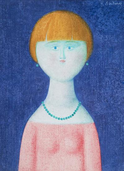 Antonio Bueno, 'Fanciulla con collana', 1981