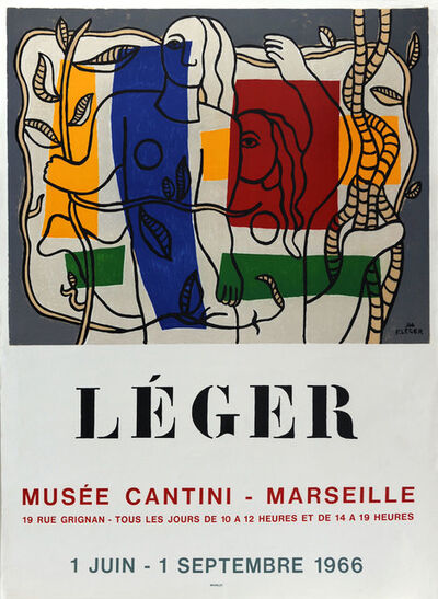Fernand Léger, 'Musée Cantini 1966', 1966