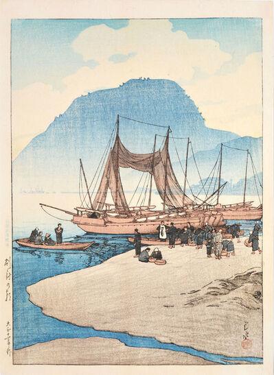 Kawase Hasui, 'Morning at Beppu', 1922